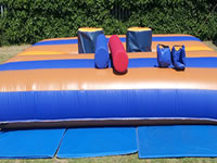 Gladiator Bouncy Castle