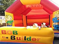 Bob the builder bouncy castle